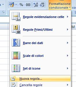 Excel: come colorare una cella in base al valore